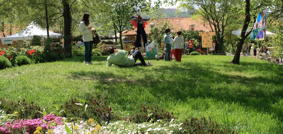 Pic-nic sul prato - Parco di San Giovanni